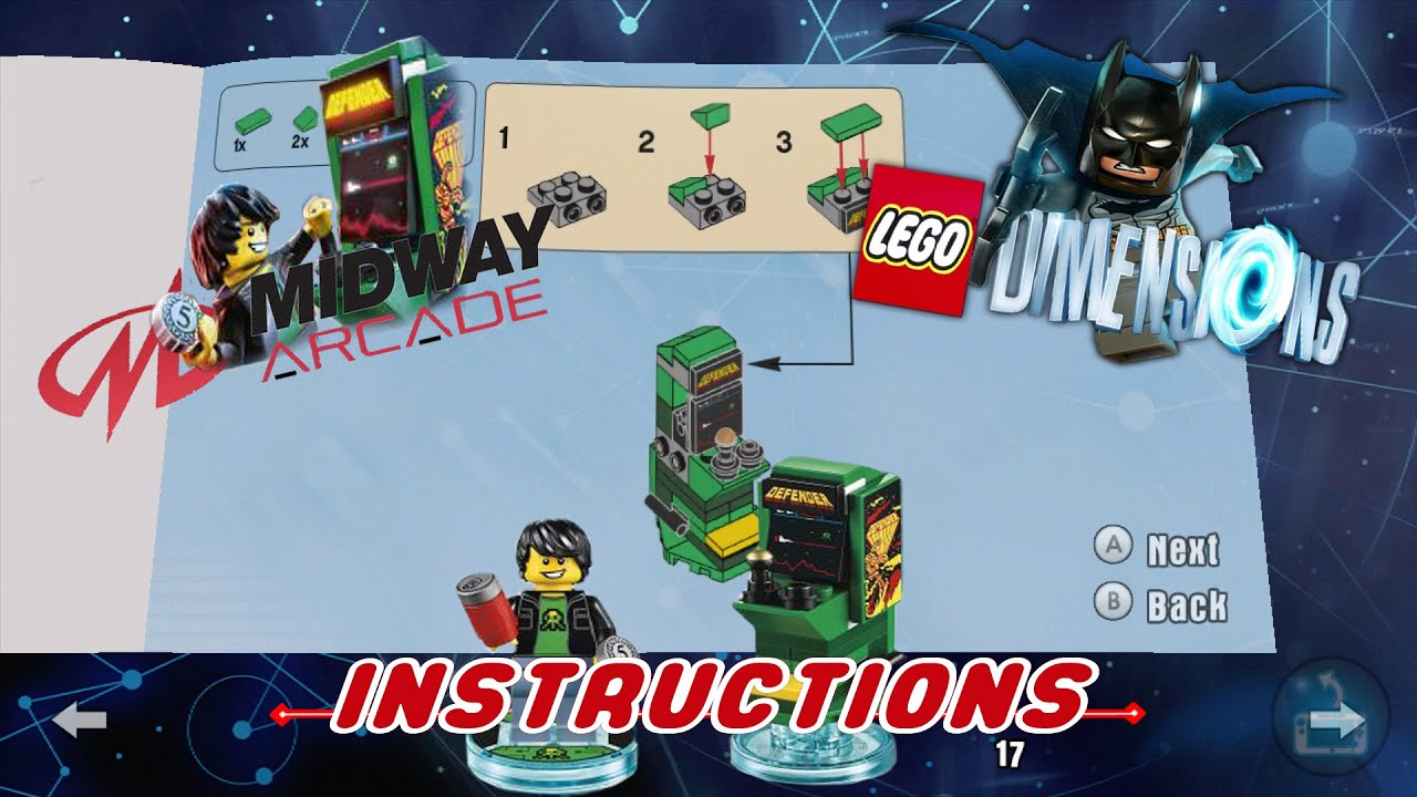 lego instructions for lego dimensions