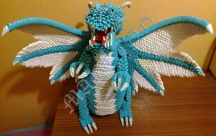 modular origami dragon instructions