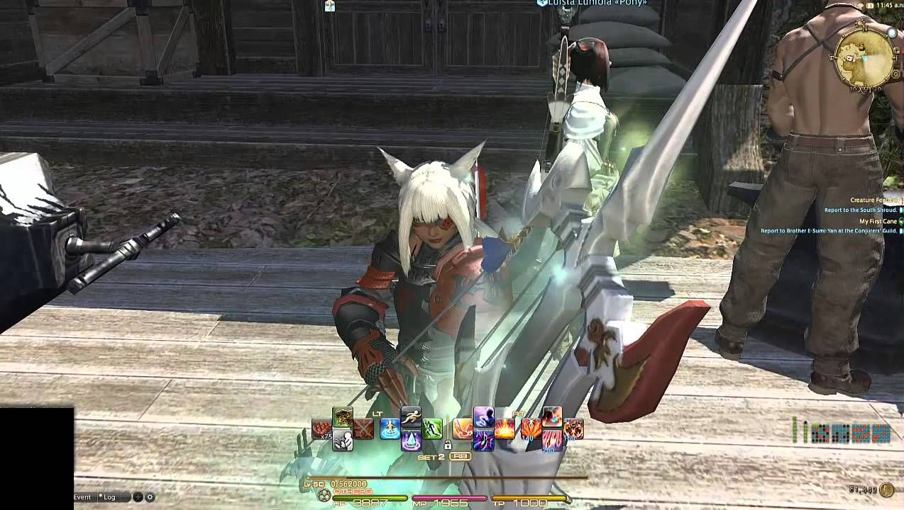 Ffxiv how to get 320 bow
