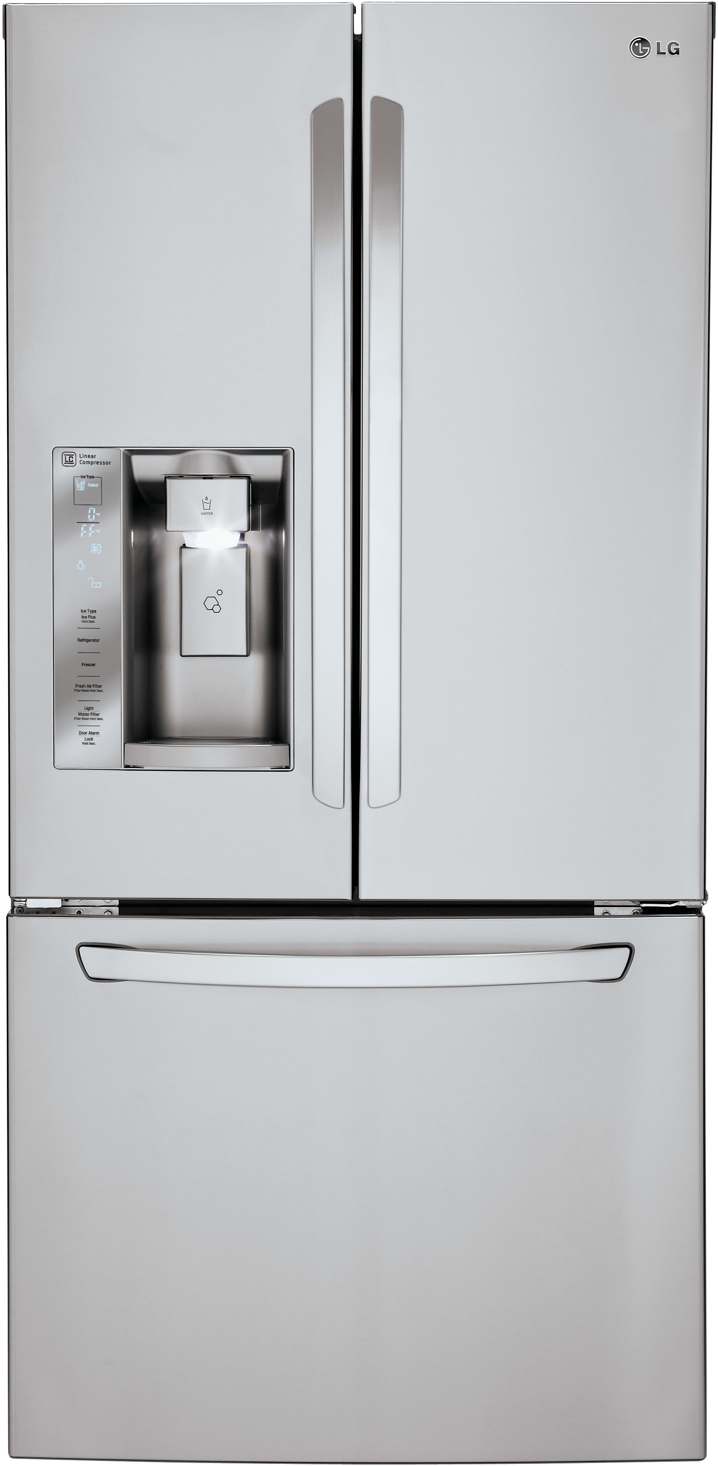 lg two door ice maker instruction manual