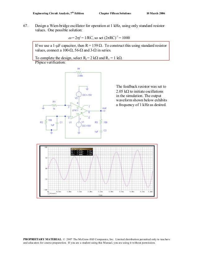 Engineering circuit analysis 7th edition solution manual