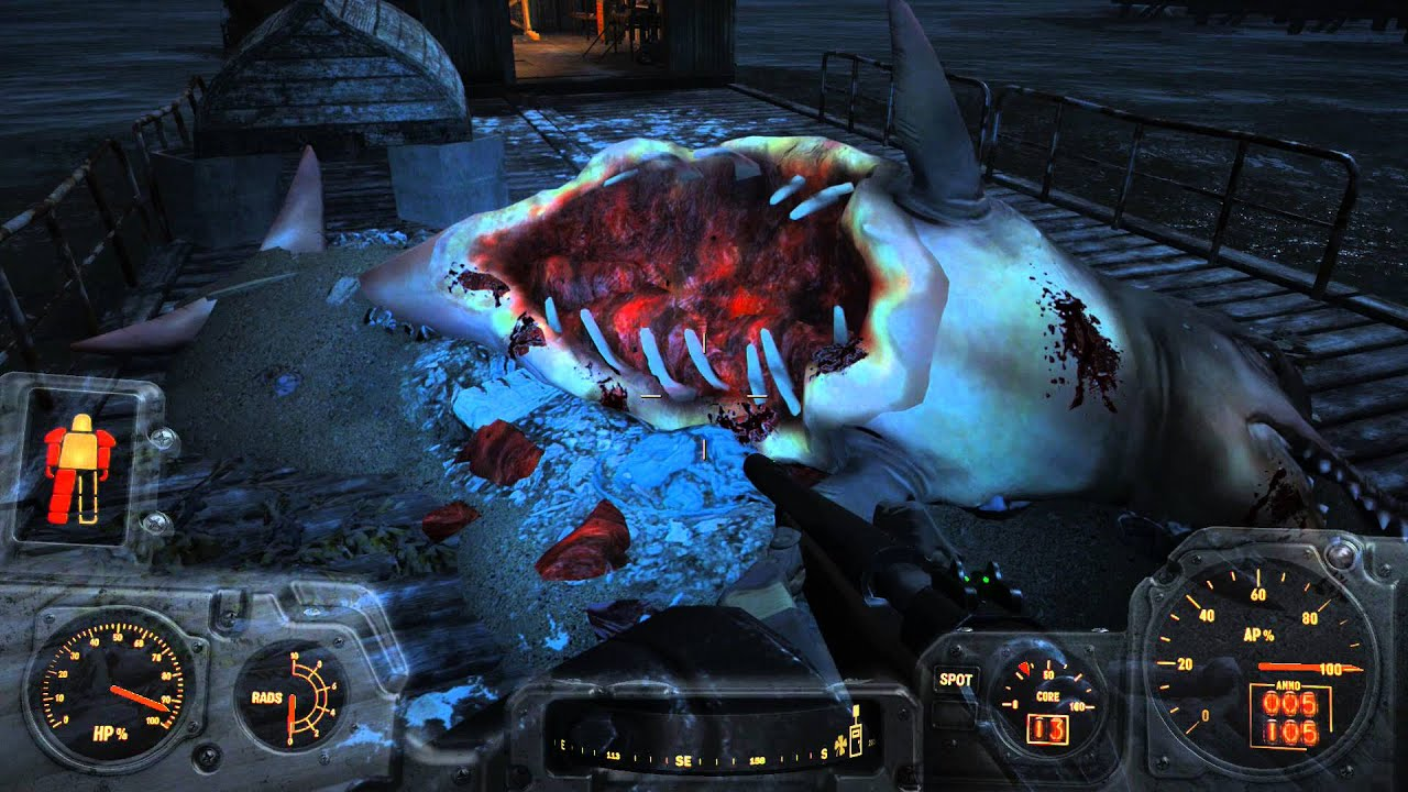 Fallout 4 how to spawn fish