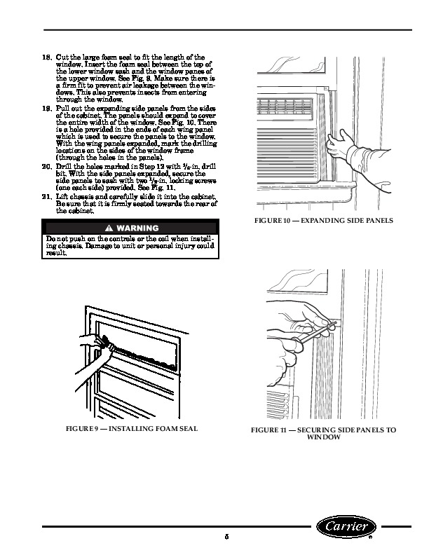 Carrier air conditioner parts manual