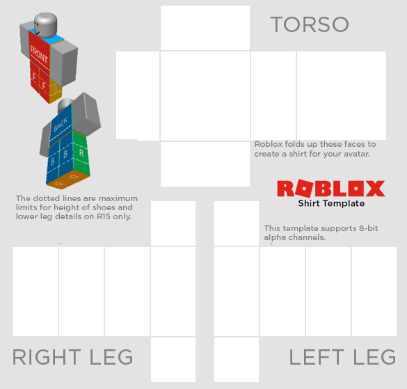 Roblox how to get a shirt or pants template