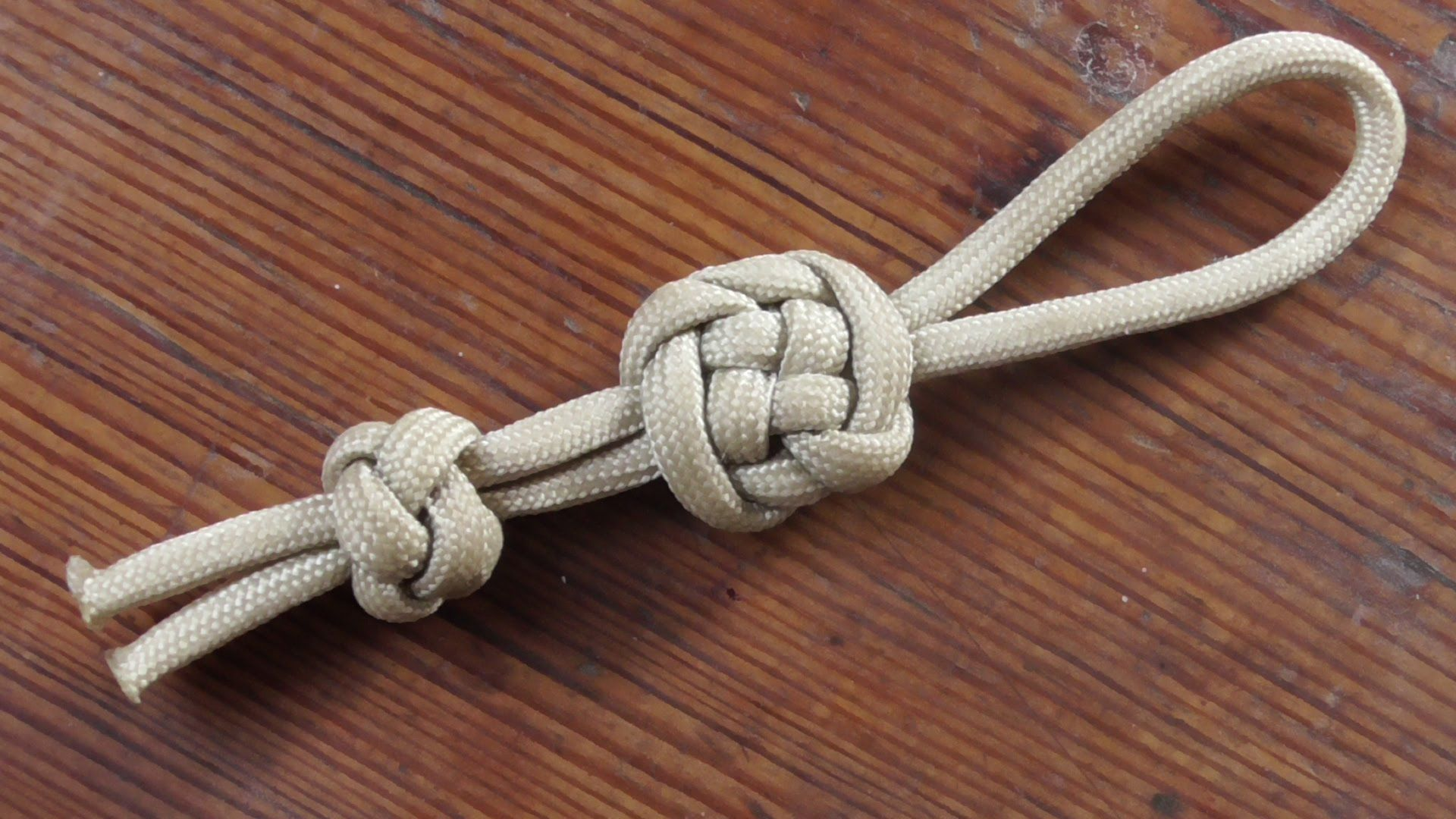 Step by step knot tying instructions