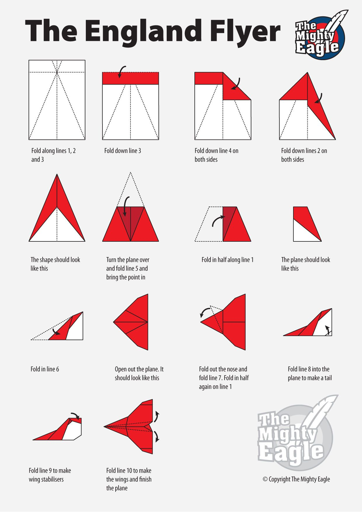 best paper airplane instructions