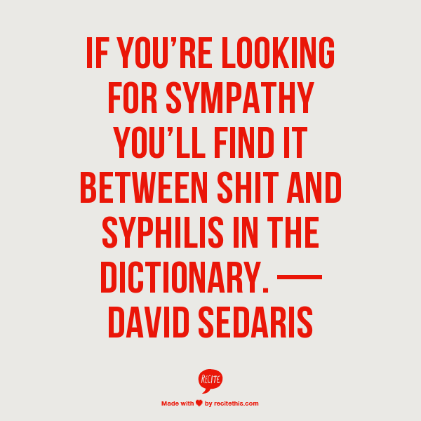 Is sympathy between shit and syphilis in the dictionary