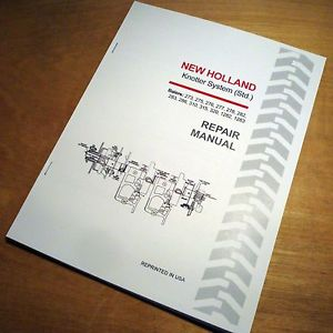 New holland t5050 service manual