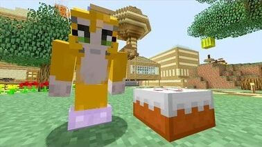 Minecraft how to build stampy lovely world dog house
