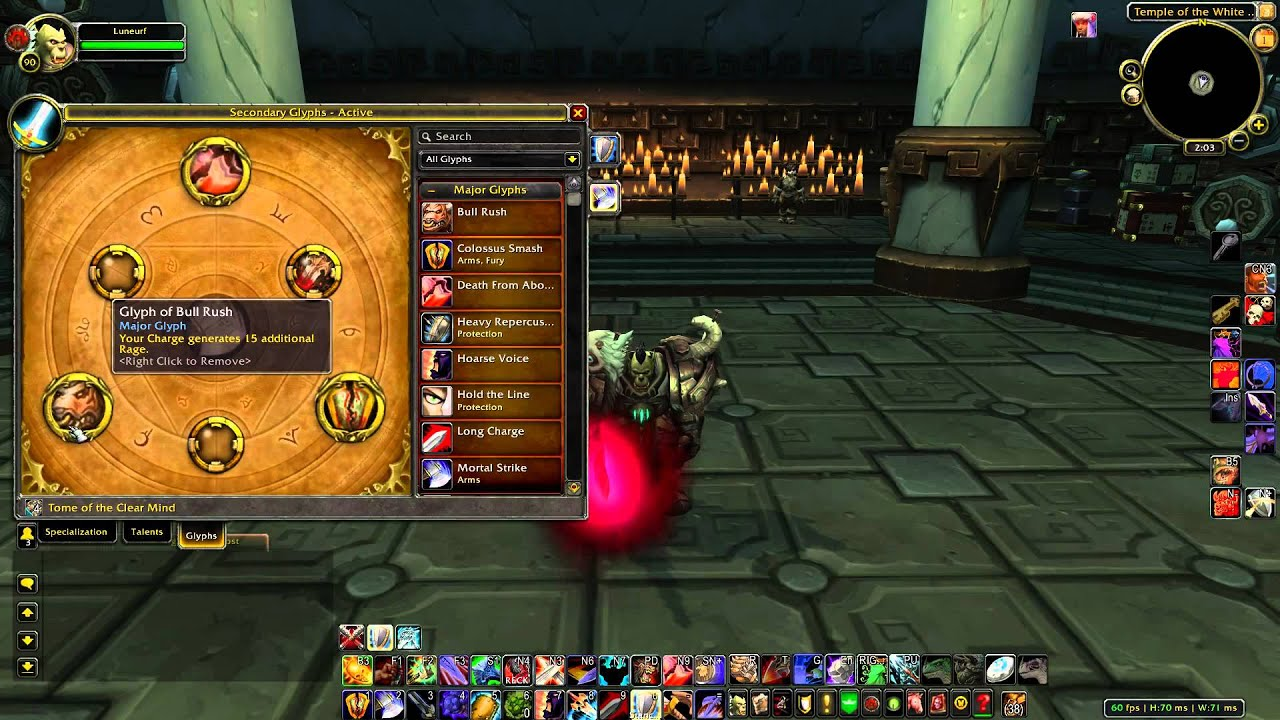 Prot warrior 3.3 5 pvp guide