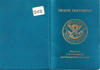 What is a travel document uk
